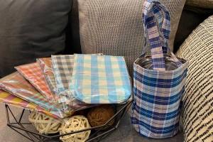 Yeti Cotton Bag Holder 30 oz, with Thai Loincloth Pattern & Color
