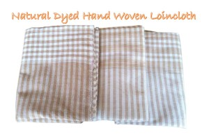 Natural Dyed 100% Cottong Hand Woven Loincloth