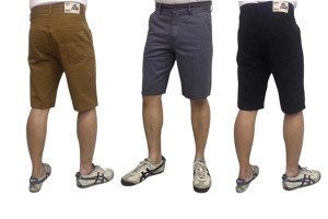 Men's Short Cotton Pants. Comfortable Wear with Many Colors to Choose