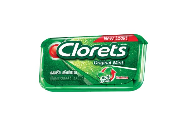 CLORETS Tablets in Variety Flavors