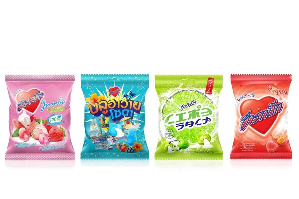 HEARTBEAT,Heart-Shaped Candy with Variety of Flavors