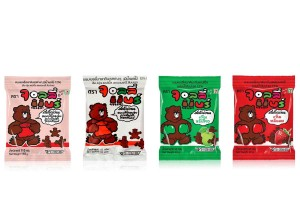 JOLLY BEAR, Yummy Gelatin Jolly in Assorted Fruit Flavors