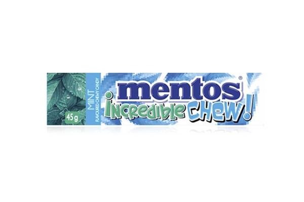 MENTOS Incredible Chew, Mint - 45 g