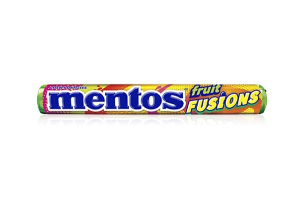 MENTOS Candy in Stick, Fruit Fusion - 37 g