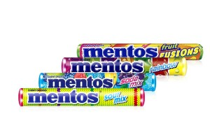MENTOS, Chewy Mint Candy & Fruit Flavored Candy