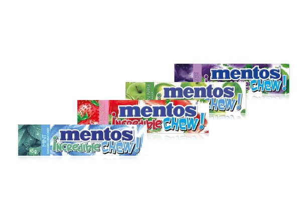 MENTOS,Chewy Mint Candy & Fruit Flavored Candy