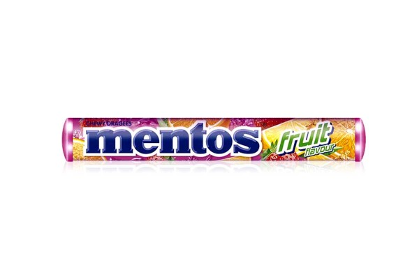 MENTOS Candy in Stick, Mix Fruit - 37 g