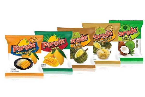 PARADE, Tropical Fruit Hard Candy