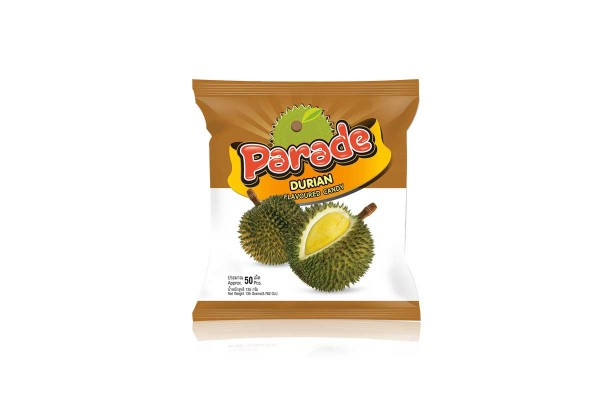 PARADE, Durian Flavor Candy - 135 g