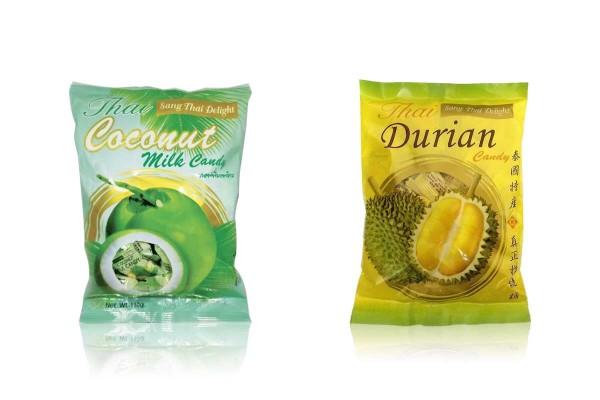 SANGTHAI Delight, Durian & Coconut Candy