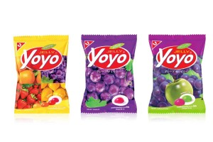 YOYO Gelatin Fruity Gummy Jelly
