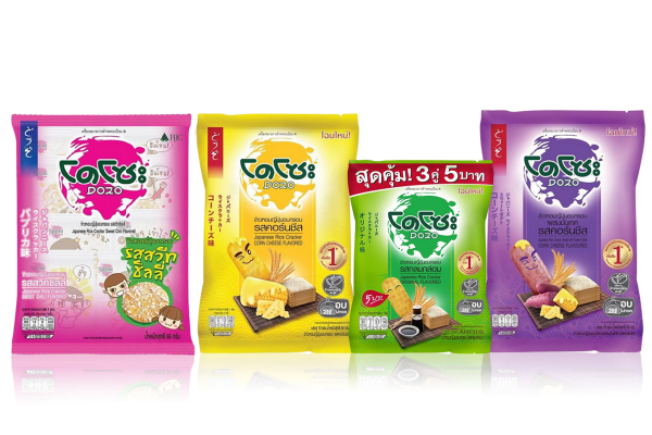 DOZO,Healthy Japanese Rice Cracker Popular in Thailand