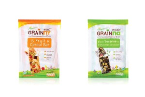 GRAINNA-GRAINY, Mixed Fruit & Sesame Wholegrain Cereal Bar