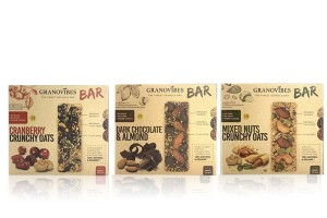 GRANOVIBES BAR, Granola Mixed with Plant-Based Super Food