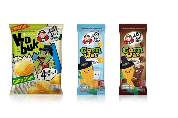 KOBUK & CORN WAR Crispy Corn Snacks by TAO KAE NOI