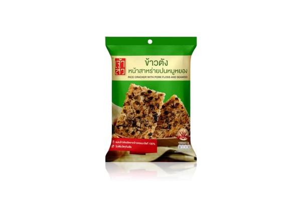 CHAOSUA Rice Cracker with Pork Floss & Seaweed - 70 g