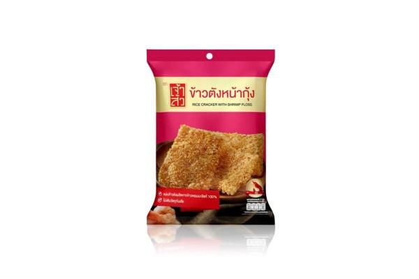 CHAOSUA Rice Cracker with Shrimp Floss - 70 g