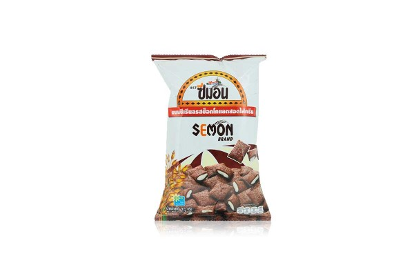 SEMON, Cereal Chocolate flavored Filled with Cream - 75 g