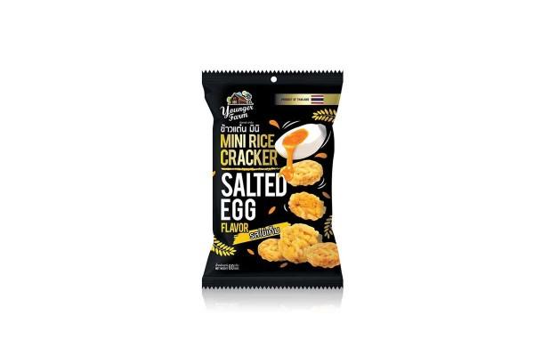 YOUNGER FARM Mini Rice Cracker, Salt Egg - 60 g
