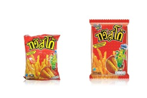 TWISTKO, Corn Snack with BBQ Flavor
