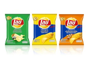 LAYS Potato Chips in Variety of Flavors, Small Sizes 25-27 Grams