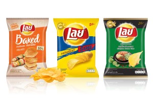 LAYS Potato Chips in Variety of Flavors, Medium Sizes 50 Grams