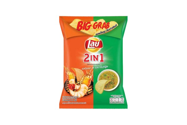 LAY'S ROCK Potato Chips, Grilled Shrimp & Seafood Sauce - 73 g