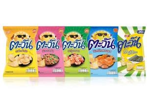 TAWAN, Tasty Crispy Prawn Chips in Variety Flavors, Wholesale !