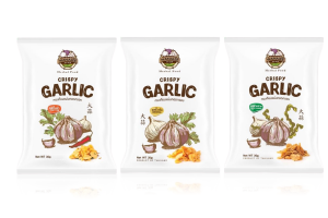 WANALEE Crispy Garlic Chips in 3 Flavors