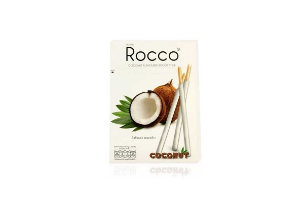 ROCCO Stick Buiscuit,Coconut Flavor - 125 g