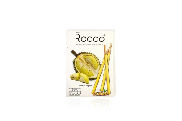 ROCCO Stick Buiscuit Durian Flavor - 125 g