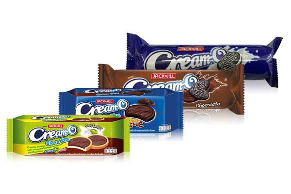 CREAM-O, Affordable Yet Rich filling Sandwich Cookies