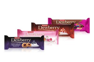 DEWBERRY, Refreshing Fruity Jam Cookies
