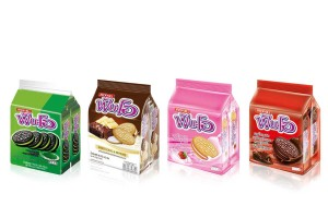 FUN-O, Sandwich Coookies with Various Fillings