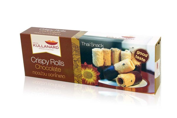 KULLANARD, Crispy Roll Chocolate - 95 g