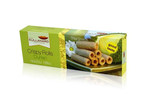 KULLANARD, Crispy Roll Durian - 80 g