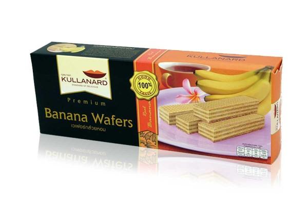 KULLANARD, Banana Wafer - 120 g