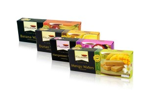 KULLANARD Fruit Wafer, Made from Tropical Real Fruits