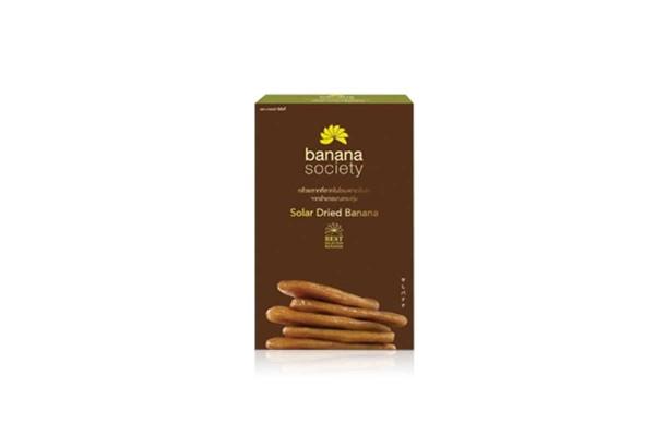 BANANA SOCIETY Solar Dried Banana - 450 g