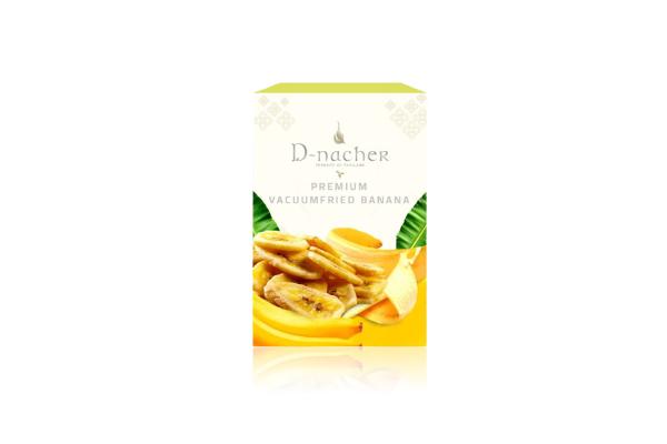 D-Nacher's Vacuum Fried Banana - 60 g