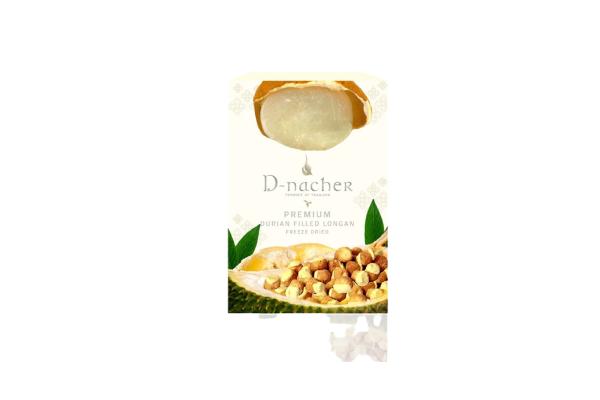 D-Nacher's Longan Stuffed Durian Freeze Dried - 60 g
