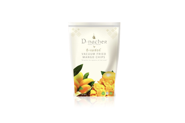 D-Nacher's Vacuum Fried Mango Chips - 60 g