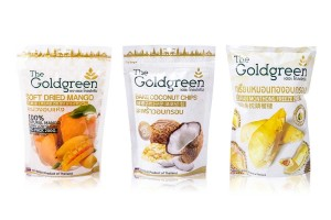 GOLD GREEN, Thai Dried Fruit Snacks