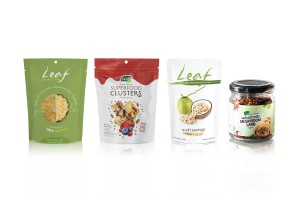 LEAF, Healthy Fruit Snacks from Fruits & Cereal