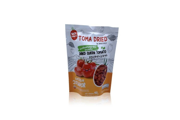 TOMA DRIED by MAECHUAY, Dried Queen Tomato, 3 Flavors - 40 g