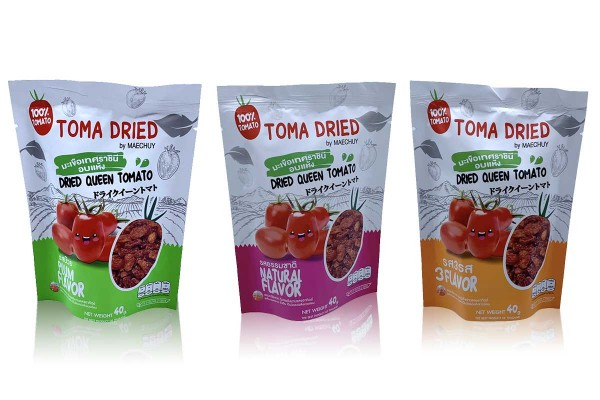 TOMA DRIED by MAECHUAY, Best Selling Solar-Dried Queen Tomato