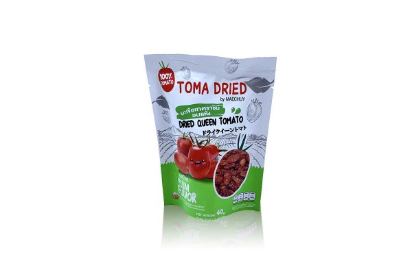 TOMA DRIED by MAECHUAY, Dried Queen Tomato, Plum - 40 g