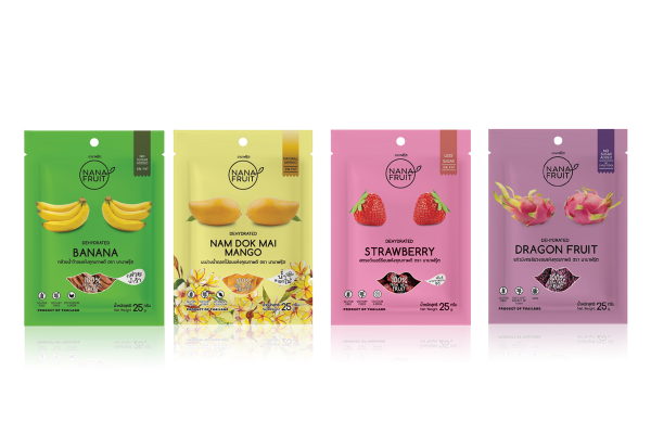NANA FRUIT, Dehydrated Thai Fruit Snacks