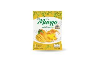 Premium Real-Fruit Jelly Snack, Mango and Lemon Flavors
