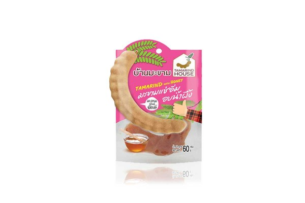 TAMARIND HOUSE, Sweet Tamarind with Honey 4 Flavors - 60 g